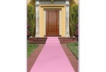 My 40th Ideas  / The theme is Oscars Red carpet (in this case Pink Carpet)