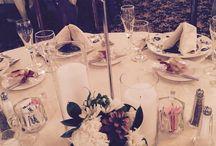 Dining Rooms/ Reception Venue / Vintage country elegant wedding reception venue