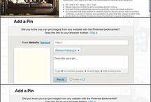 Pinterest tutorials