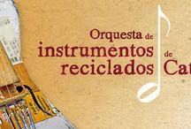 """Orquesta de instrumentos reciclados de Cateura - Orchestra of recycled instruments Cateura / """"La vida nos da basura, nosotros le devolvemos música"""""""