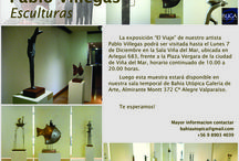 Esculturas de Pablo Villegas