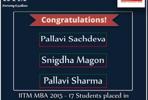 IITM Congratulate the students of MBA 2015-17 batch for getting placed in CPM INDIA .