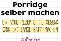 Porridge selber machen