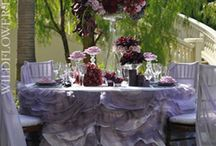 Wildflower Linens / Wildflower linen rentals, chair covers, napkins Sonoma - Napa