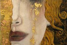 Lady by Gustav Klimt