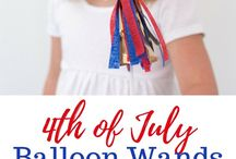 4th of July! / Party ideas, decor, and celebration ideas for the July 4th.
