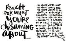 Words / by Jennifer Emery