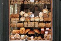 Bagerier, Boulangeries, Bakeries, Leipomot