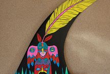 Surf Designs / Some cool surfboard and fin designs