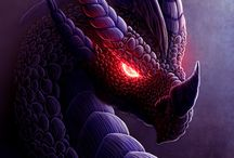 Dragons~ Purple & Blue / by Boo Jay