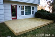decking for top room