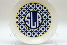 Personalized Plates & Platters / Looking for personalized plates and platters that are actually Made in the USA?  You've found them!  Our plates and platters are even Melamine FREE, BPA FREE, dishwasher safe AND microwave safe!  Monograms, Names, Photos, Logos, Private Label and more!!