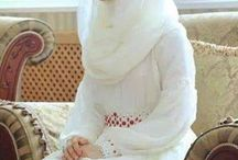 Wedding Dress and Hijab