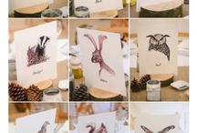 Hochzeitstisch mit Papeterie