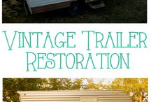 On the Road Again / Vintage Trailer Redo's / by Darlene Forget
