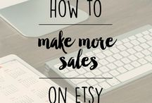Etsy Tips / How to sell your products on Etsy successfully? How to market your Etsy shop? Tips and tricks every Etsy seller should know.