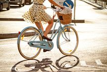 A bicycle chic