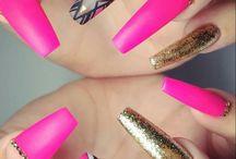 Neon pink designs