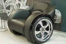 Automotive Furniture & More / Creative ways to bring your automotive passion into your home. Literally!