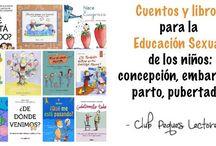 Cuentos y libros sexualidad niños, pubertad, embarazo, parto, adolescencia
