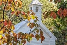 Churches Old and New / Churches / by Nanci Harvey