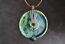 Biżuteria ceramiczna / Wisior