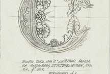 Letras, fuentes, caligrafía y arte