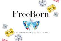FreeBorn Lab Created Diamond