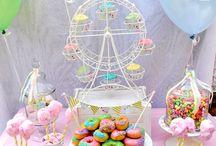A&K Lolly Buffet {Pastel Carnival Mini Dessert Table}