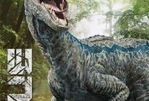 Jurassic world and park / tablero dedicado a los animales más intrigantes e perfectos que han pisado este mundo