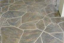 Painted Patio Concrete Floor