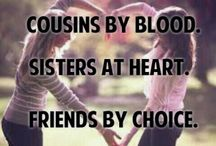 Cousins by Lyn Palfrey / The love that cousins share growing up & as adults.