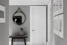 Black and grey walls