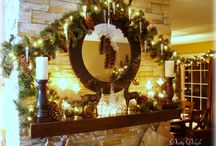Christmas Trees, Mantels & Decor / Christmas Themed Home Decor / by Dining Delight