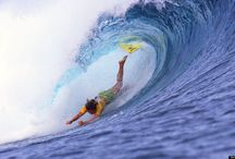 17 Photos Of The Most Gorgeous Surfing Fails / Though we don't even want to think about the skin-stinging collision of these bodies and water, that split second where they're soaring above the surf is actually pretty breathtaking. Check out the most epic wipeouts from the Huffington Post.