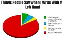Struggles of Being A Leftie / Lefties aka southpaws can relate to these struggles