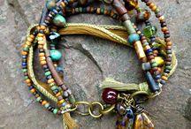 Bracelet Bonanza / Fun, bohemian, unique, beaded  bracelets!