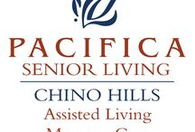 Pacifica Senior Living Chino Hills / Located in the greater Los Angeles Area, Pacifica Senior Living Chino Hills offers assisted living and full-service memory care programs, providing a warm, inviting and familiar environment for residents with Alzheimer's disease and other forms of dementia. Our community focuses on programs that help individuals with memory loss to thrive while managing the issues of dementia.