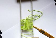 Hairpin lace, Horquilla, cochet