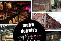 Wedding Venues Detroit / Here at Shutterbooth we have a lot of pride for our Detroit roots, so we've complied a list of great venues right here in our own backyard.