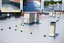 Polyurea Sprey Açık Teras Su Yalıtımı Uygulaması / Polyurea kaplama çözümleri