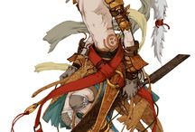 Fantasy Character Concepts