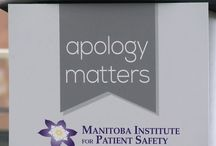 Apology Matters / Apology legislation helps doctors and health care workers say 'I'm sorry' to patients. Know that apology matters.