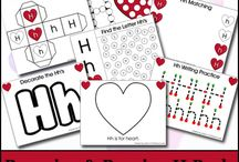 Learning - Letters / ABC / Teach your baby, toddler and preschooler all about letters / ABC. Printables, activities and crafts.