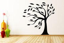 Dekorace na zeď / moderní a kvalitní samolepky na zeď