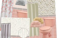 Vintage Pink Bathrooms / Because I have a vintage pink bathroom in my house.... Some of these pink bathrooms are cute, some are not... some are just funny looking!