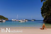 Beautiful NZ Beaches / Which beach to go to in New Zealand? Summer Holiday collection.