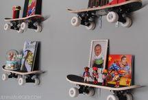 étagère skate