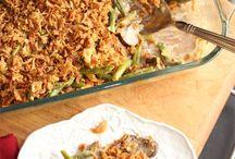 side dished/salads