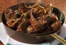 Ricette: Carne Agnello, Pecora e Capra